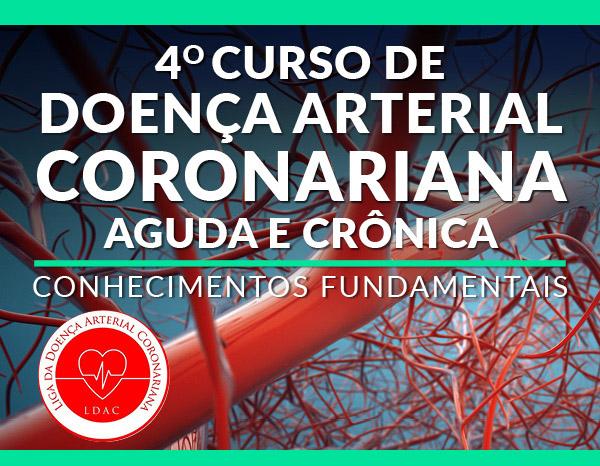 Curso de Doença Arterial Coronariana Aguda e Crônica 2019